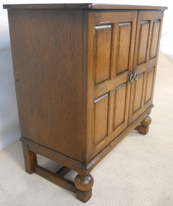 Antique Style Reproduction TV Cabinet Cupboard